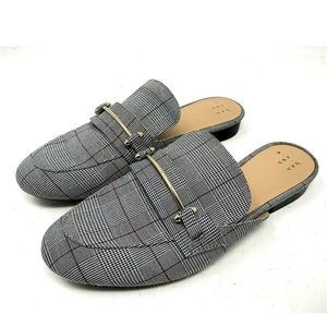 A New Day Gray Glen Plaid Slides 1875